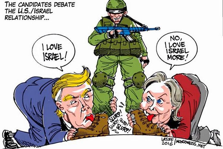 Candidatos presidenciales estadounidenses se centran en el conflicto palestino-israelí durante la conferencia de AIPAC