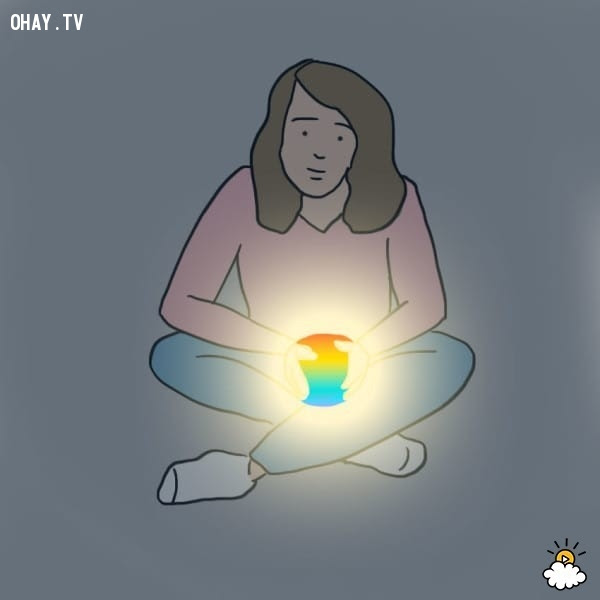 2. Nắm giữ quả cầu năng lượng,sức mạnh tâm linh