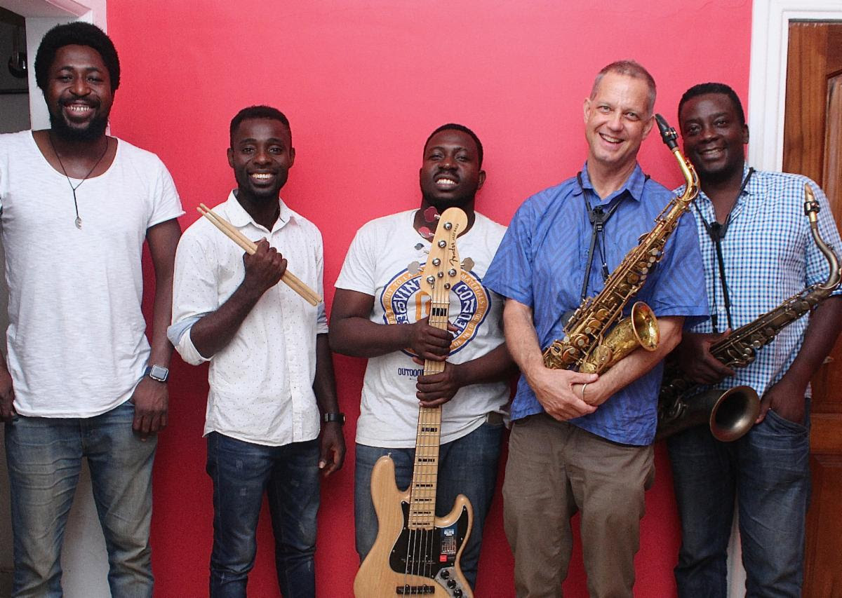 Benjamin Boone and Ghana Jazz Collective