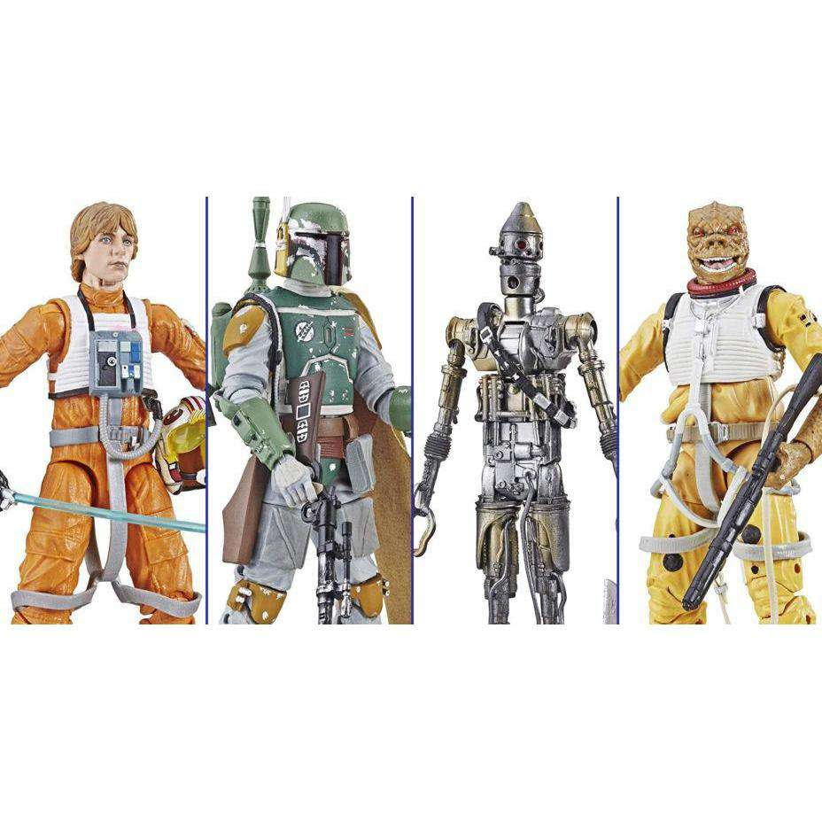 "Image of Star Wars: The Black Series 6"" Archive Collection Wave 1 - Set of 4"