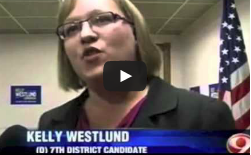 Kelly Westlund anouncement video