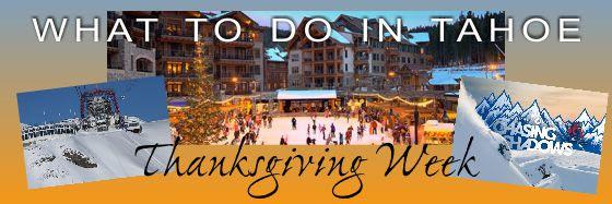 Tahoe Thanksgiving