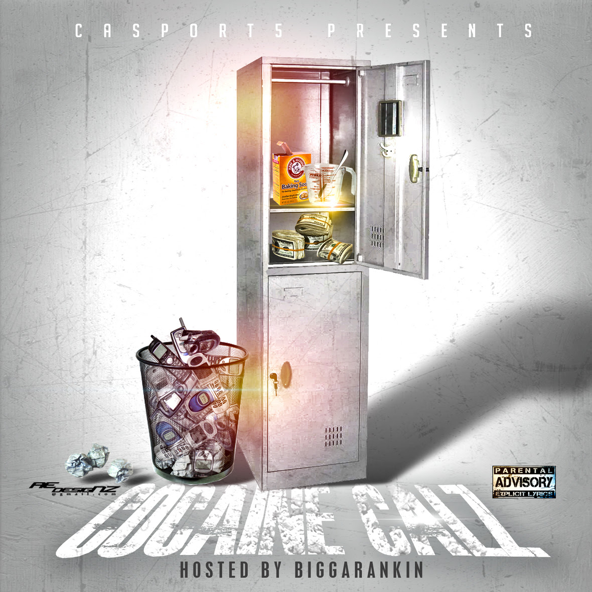 Calz - Cocaine Calz Front Cover