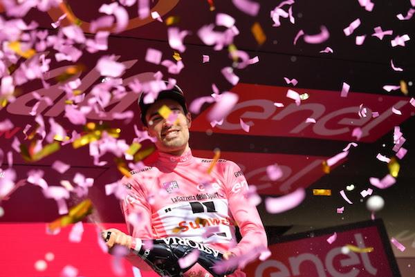 Giro d'Italia: strapotere Dumoulin, crono e maglia rosa all'olandese!