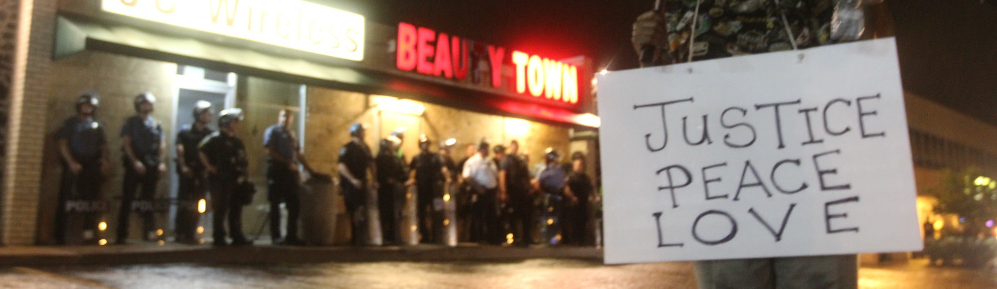 Live from Ferguson, Missouri