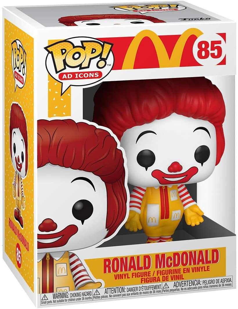 Image of Funko Pop! Ad Icons: McDonald's - Ronald McDonald