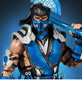 MORTAL KOMBAT XI SUB-ZERO ACTION FIGURE