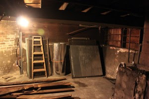 old basement before and after