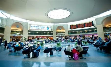 Ben Gurion departures hall