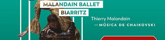 Malandain Ballet Biarritz. Thierry Malandain. Músixa de Chaikovski
