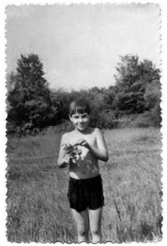 Александр Гезалов в пионерском лагере