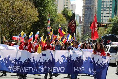 Bolivia protestó en contra de las agresiones del Imperio