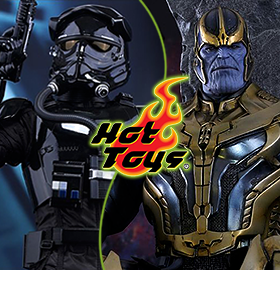 NEW HOT TOYS AND SIDESHOW