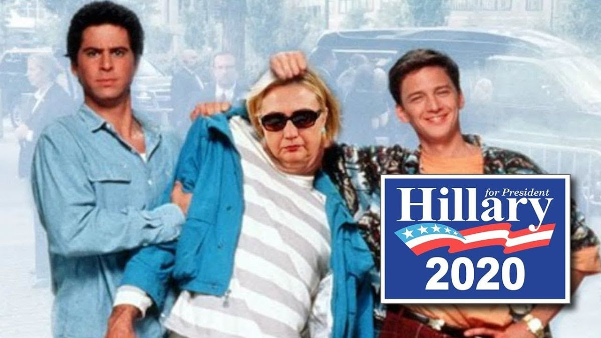funny Hillary picture