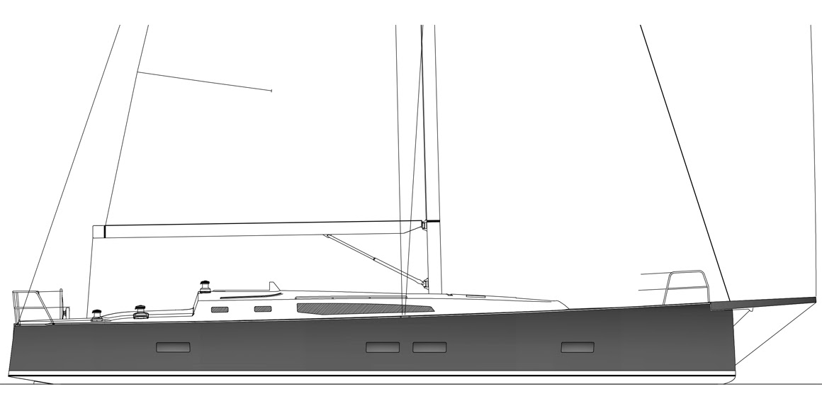 J/45 offshore cruising yacht profile