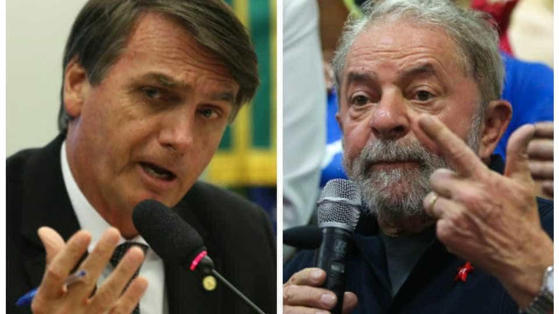 Datafolha: Lula teria quase dobro de votos de Bolsonaro no primeiro turno
