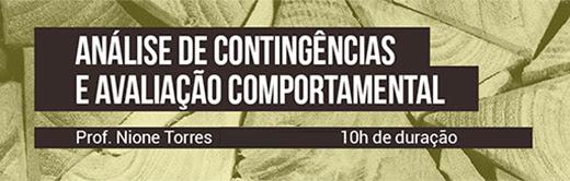 Curso Análise de Contingências e Avaliação Comportamental 8
