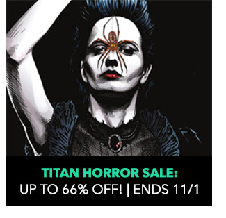 Titan Horror Sale: up to 66% off! Sale ends 11/1.