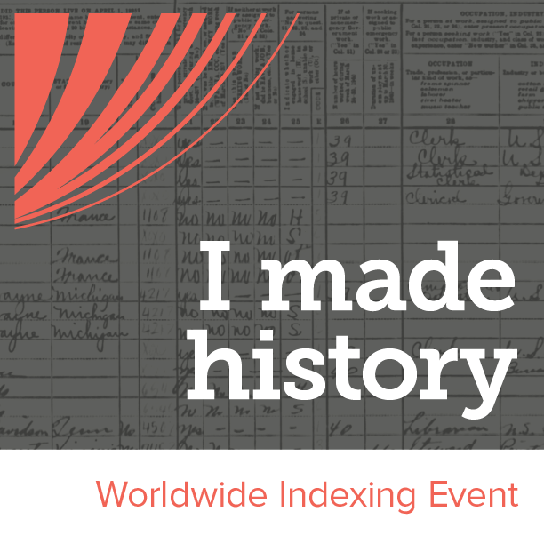 Worldwide Indexing Event Badge