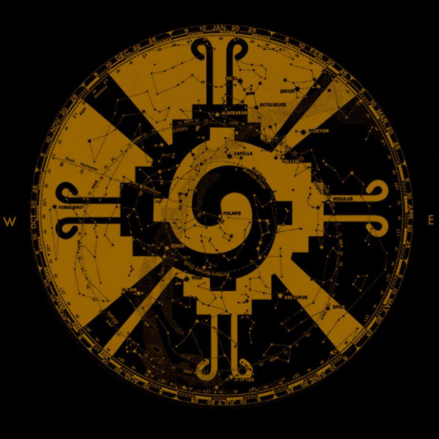 heavy metal band infalling hunab ku symbol by consumed minds d5o5kvl - Hunab Ku, ¿el Dios de los Mayas?