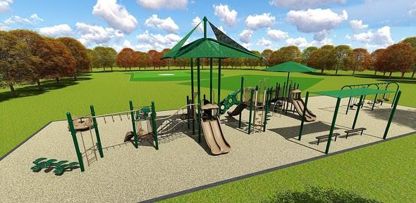 Winchester II Park rendering