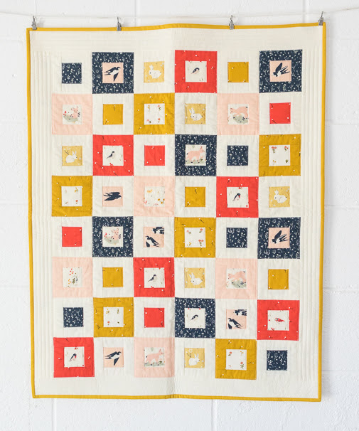 Little Quilt by Keiko Vogel
