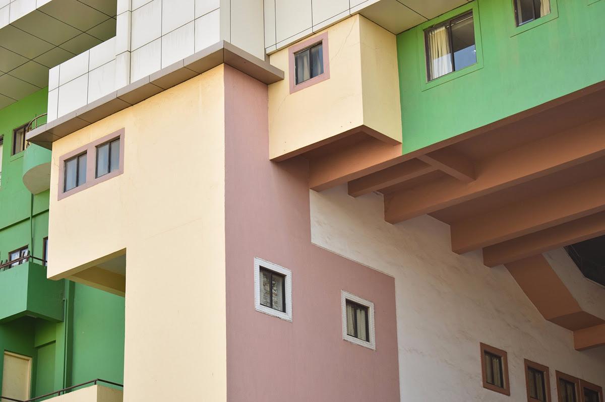 tiro de apartamentos modernos