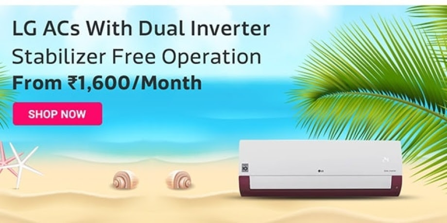 LG ACs with Dual Inverter Stabilizer Free Operation
