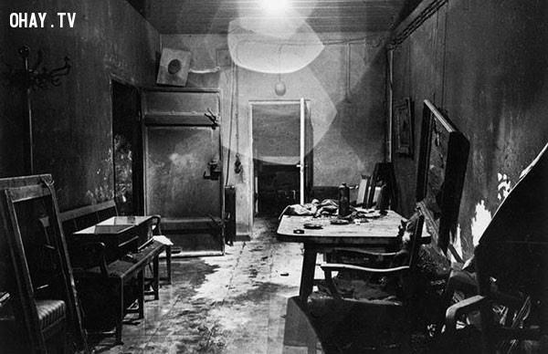 Boong ke của Hitler,bức ảnh lịch sử,khoảnh khắc lịch sử
