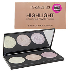 Makeup Revolution Highlighting Powder Paletter