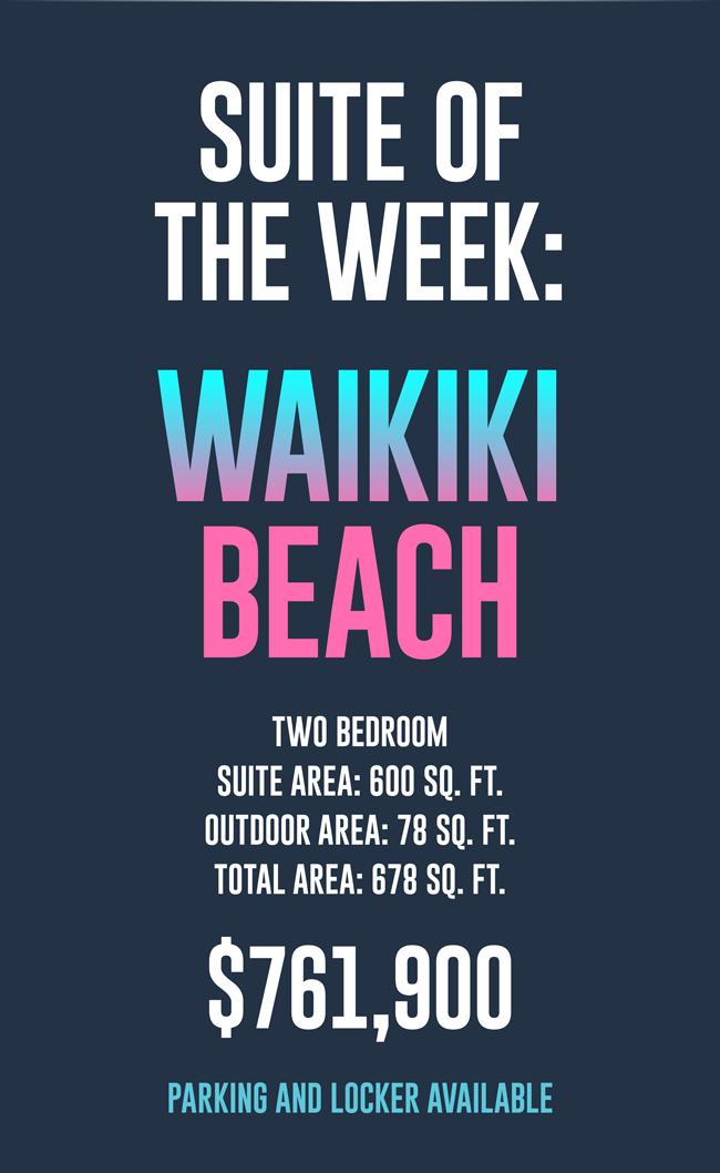 Suite of the week: Waikiki Beach