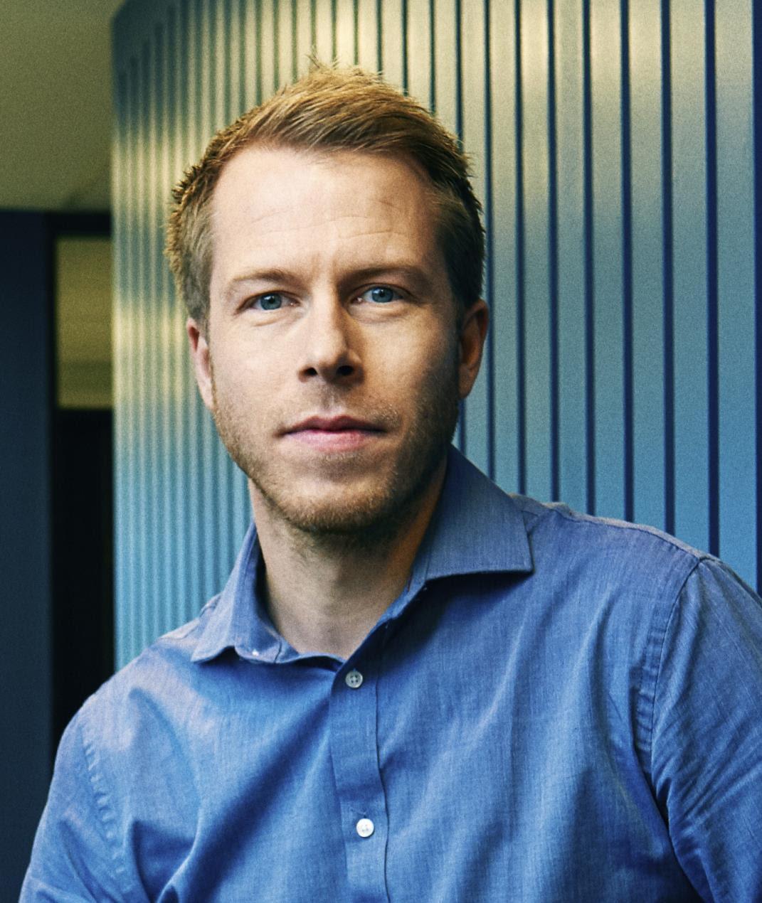 Xeneta CEO Patrik Berglund