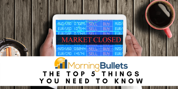 The markets are closed - let's talk about stress spending