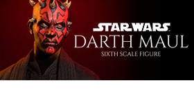 DARTH MAUL SIXTH SCALE FIGURE