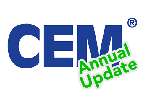 Annual Update forCertified Energy Managers