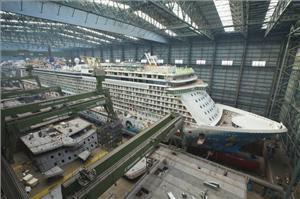 Connaitre la mer et les navires - chroniques et actu - Page 2 Cruise-ship-building-process