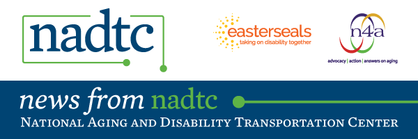 NADTC Logo National Aging and Disability Transportation Center