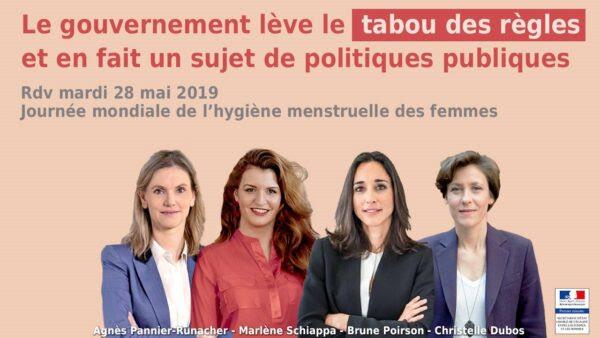 Mobilisation politique en règle pour l'hygiène menstruelle