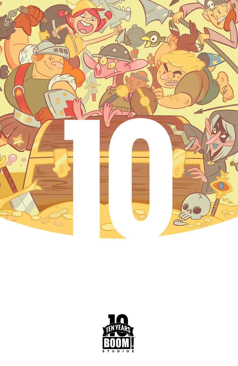 Munchkin #1 10 Years Cover
