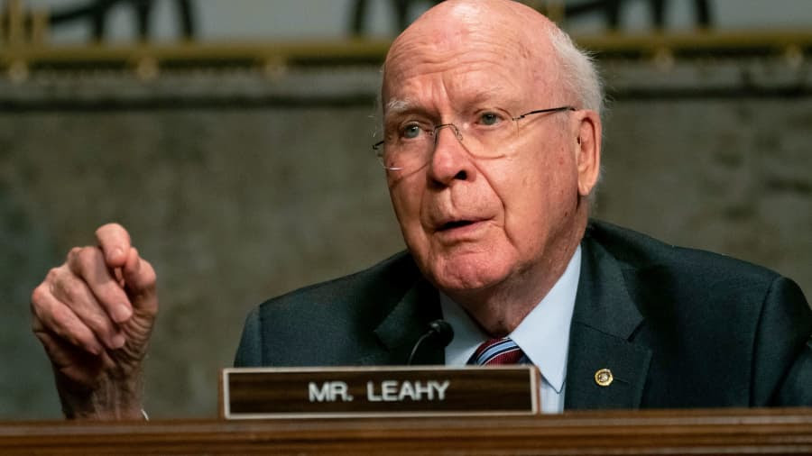 Why was this key senator just hospitalized?