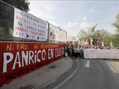 El exterior de la fábrica en Santa Perpètua, en una foto de archivo.