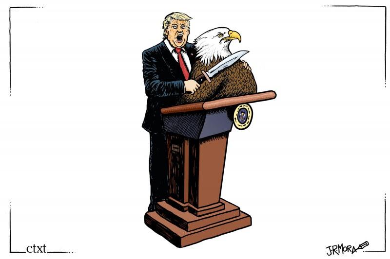 <p>Derrota de Trump.</p>