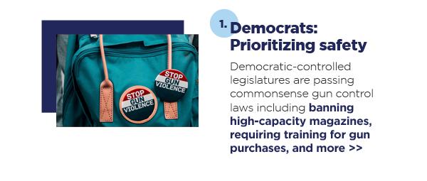1. Democrats: Prioritizing safety