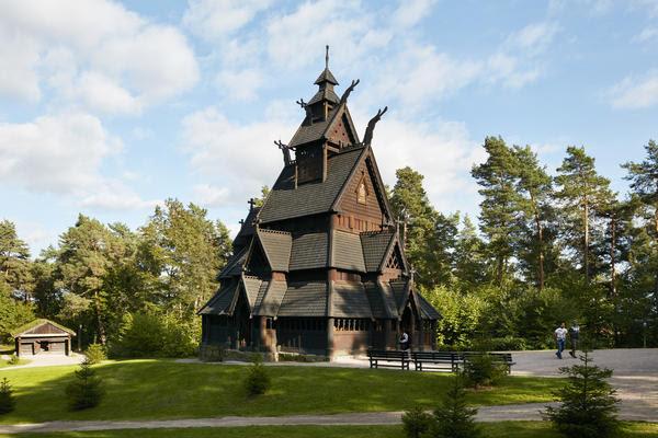 Gol Stavkirke på Norsk Folkemuseum