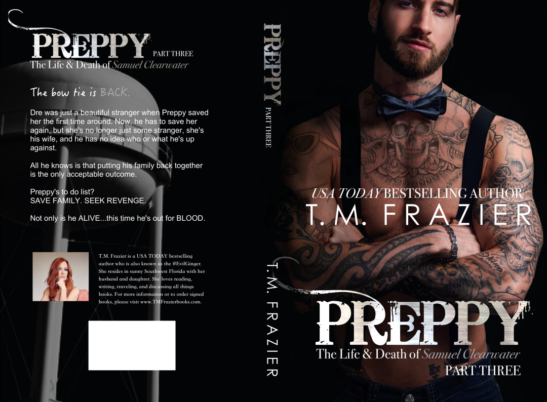 Cover Reveal ~ Preppy, Part Three by TM Frazier