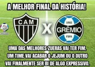 Chapecoense e final 'épica' entre Grêmio e Atlético ganham os memes