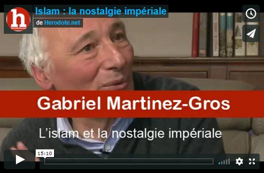 Entretien avec Gabriel Martinez-Gros