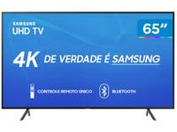 "Smart TV 4K LED 65"" Samsung UN65RU7100 Wi-Fi"
