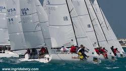 J/70s sailing off Key West