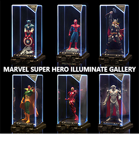 MARVEL SUPER HERO ILLUMINATE GALLERY